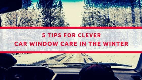 Winter Car Window Care