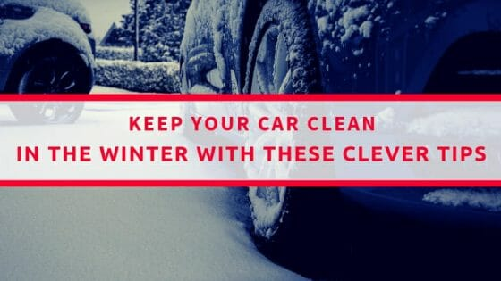 How to keep your car clean in the winter